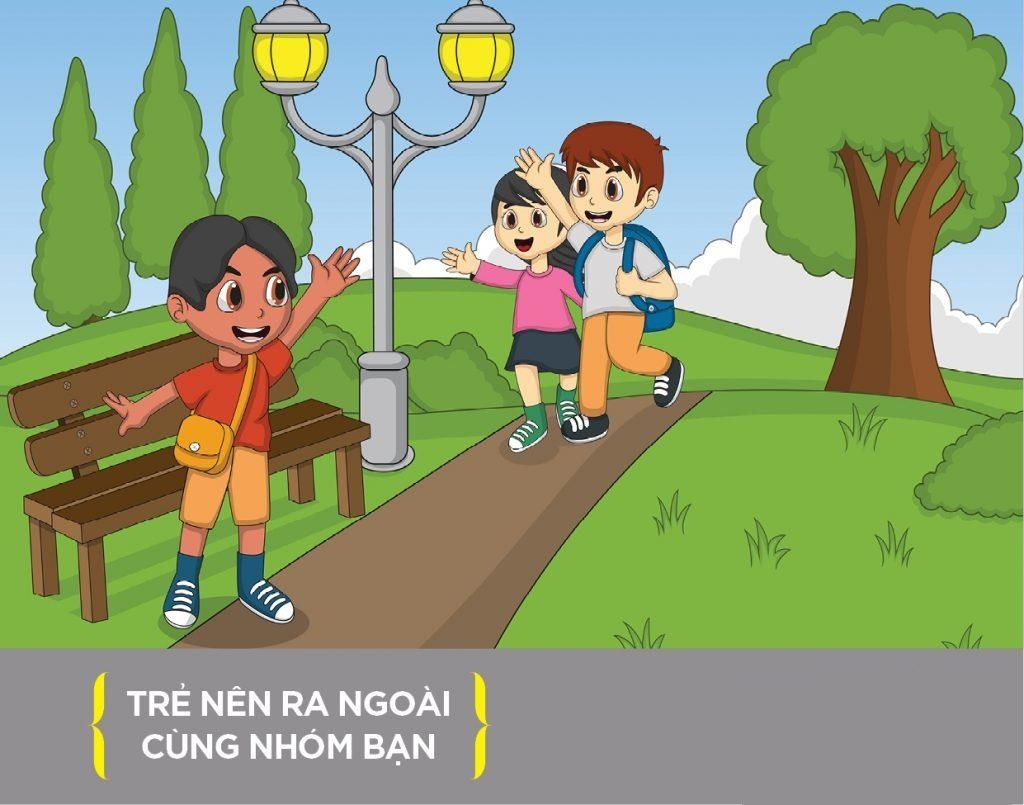11 ky nang song cho tre em ve xu ly cac tinh huong tren duong pho