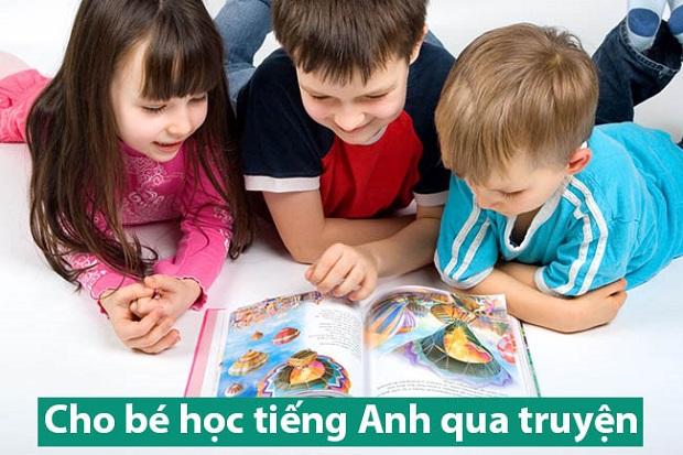 Học tiếng Anh qua truyện cho trẻ em