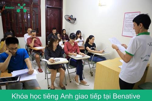 Học tiếng Anh tại trung tâm Anh ngữ Benative