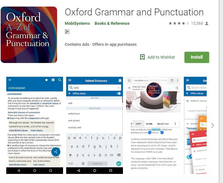 ung dung hoc ngu phap tieng anh oxford grammar and punctuation