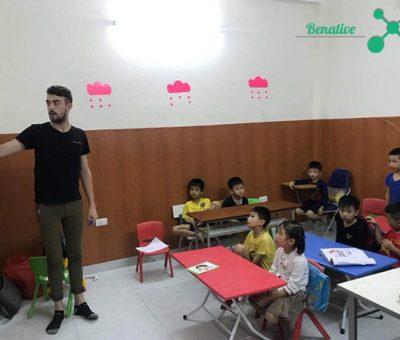 Dạy tiếng Anh cho trẻ em 3 tuổi
