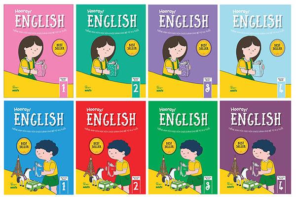 sách tiếng anh cho trẻ em cấp 2