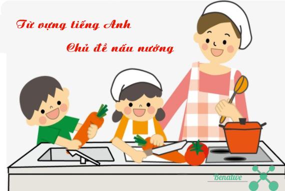 từ vựng tiếng anh chủ đề nấu nướng